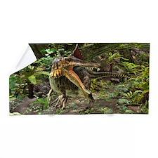 Dinosaur Spinosaurus Beach Towel
