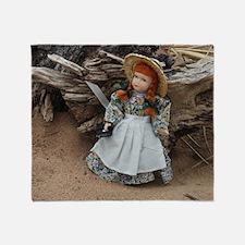 Anne of Green Gables Doll  Throw Blanket