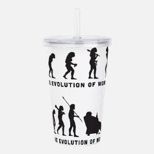 Tug of War Acrylic Double-wall Tumbler