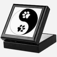 Yin Yang Paws Keepsake Box