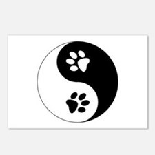 Yin Yang Paws Postcards (Package of 8)