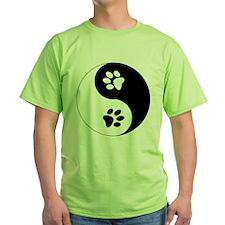 Yin Yang Paws T-Shirt