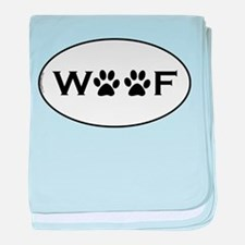 Woof Paws baby blanket