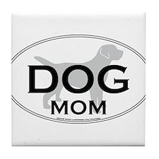 DOGMOM.png Tile Coaster