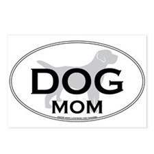 DOGMOM.png Postcards (Package of 8)