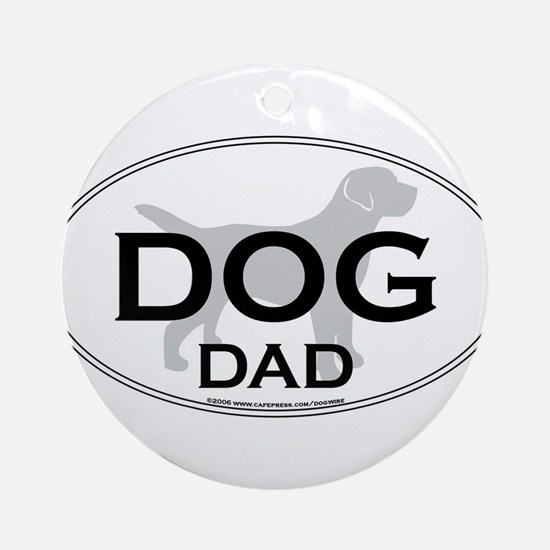 DOGDAD.png Ornament (Round)