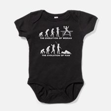 Table Tennis Baby Bodysuit