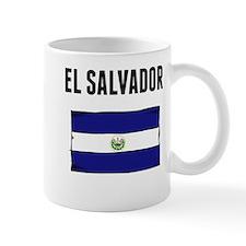 El Salvador Flag Mugs