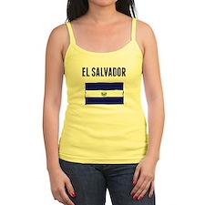 El Salvador Flag Tank Top