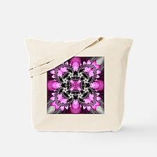 Fragments Pink Tote Bag