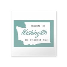 "Cute Washington Square Sticker 3"" x 3"""