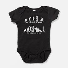 Synchronized Swimming Baby Bodysuit