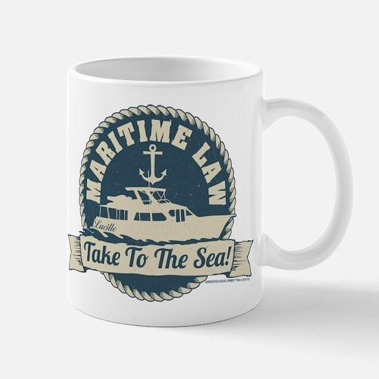 Arrested Development Maritime Law Mug