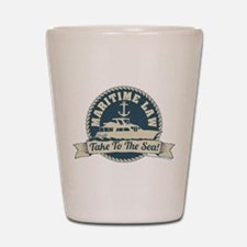 Arrested Development Maritime Law Shot Glass