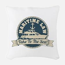 Arrested Development Maritime Woven Throw Pillow