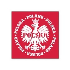 Poland Polska Eagle Emblem Sticker