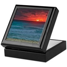 Sunset Beach Keepsake Box