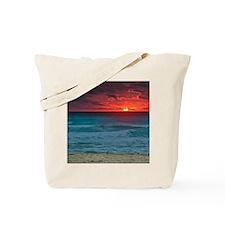 Sunset Beach Tote Bag
