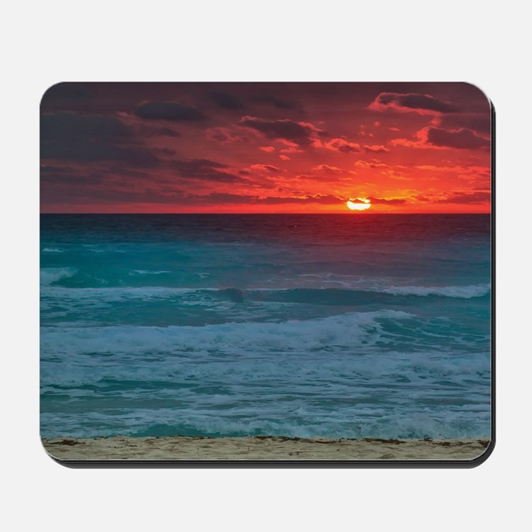 Sunset Beach Mousepad