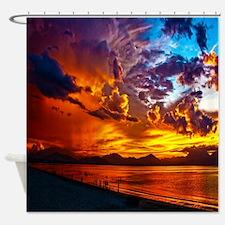 Sunset Beach Gifts Shower Curtain