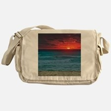 Sunset Beach Messenger Bag