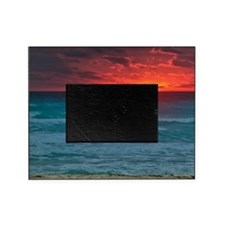 Sunset Beach Picture Frame