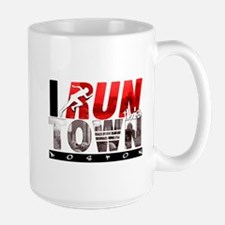 """I Run This Town Boston"" Mug Mugs"
