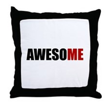 Awesome Me Throw Pillow