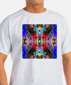 Cool Deep Kaleidoscope Colors T-Shirt
