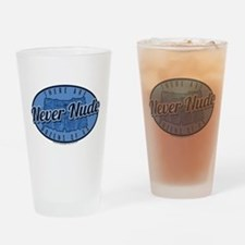 Arrested Development Never Nude Drinking Glass