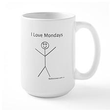 I Love Mondays Mugs