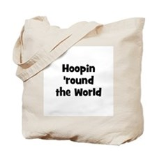 Hoopin 'round the World Tote Bag
