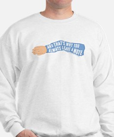 Arrested Development Leave a Note Sweatshirt