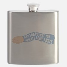 Arrested Development Leave a Note Flask