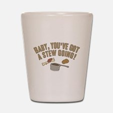 Arrested Development Stew Shot Glass