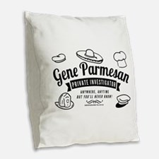 Arrested Development Gene Parm Burlap Throw Pillow