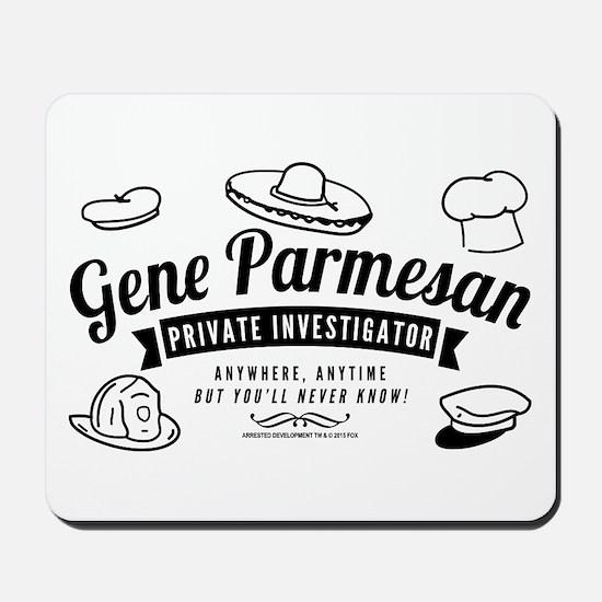 Arrested Development Gene Parmesan Mousepad
