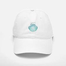 beach turquoise sea shells Baseball Baseball Cap