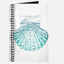 beach turquoise sea shells Journal