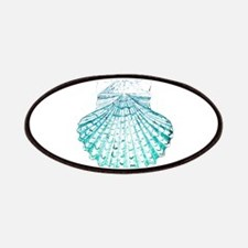 beach turquoise sea shells Patch