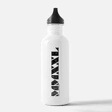 MMXXL Vertical Black Water Bottle