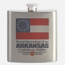 Arkansas Proud Descendant Flask