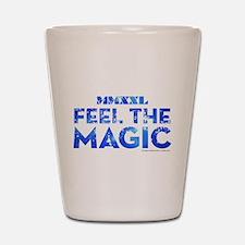 Channing Feel the Magic - Blue Shot Glass