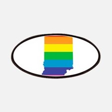 indiana rainbow Patch