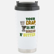 Cute Bread butter Travel Mug