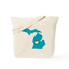Love MI Tote Bag