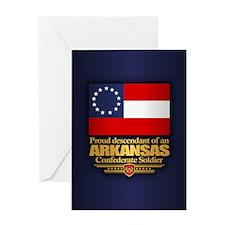 Arkansas Proud Descendant Greeting Cards