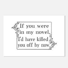 Cute Novels Postcards (Package of 8)