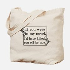 Funny Authors Tote Bag