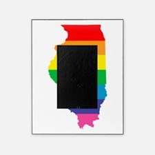 illinois rainbow Picture Frame